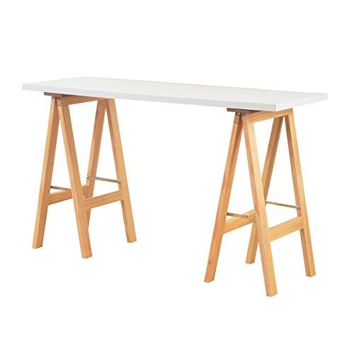 ホワイト/テーブル カウンターテーブル 120 天板 木製 棚 収納 デザイナーズ デスク パソコンデスク 机 勉強机 学習机 シンプル ナチュラル 北欧 ホワイト