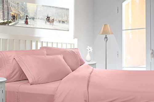 Pink Queen Size Sheets front-411829