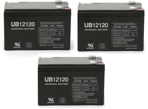 12V 12Ah Ups Battery For China Storage Battery Gp12110F2 - 3 Pack