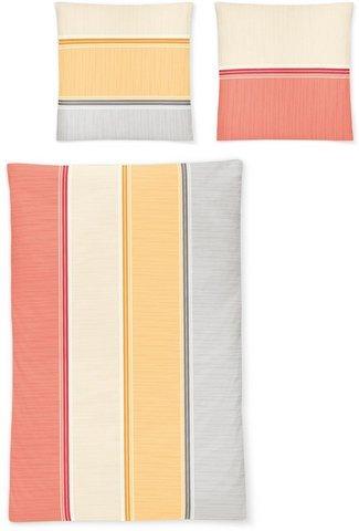 Irisette Bettwäsche, Irisette, »Luna 8210« orange Aus 100% Baumwolle gefertigt
