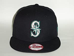 New Era MLB Seattle Mariners Team Color Snapback Cap 9fifty NewEra by New Era