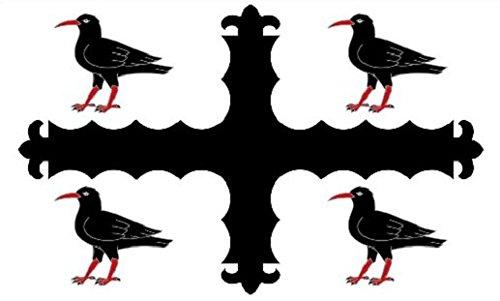 Flintshire Flag 5ft x 3ft Large – 100% Polyester – Metal Eyelets – Double Stitched
