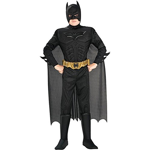Deluxe Muscle Chest Batman Toddler Costume - Toddler