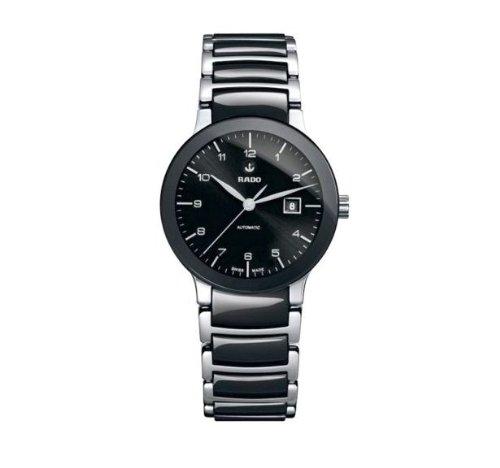 Rado Centrix Automatic Black Dial Two-tone Ceramic Ladies Watch R30942162