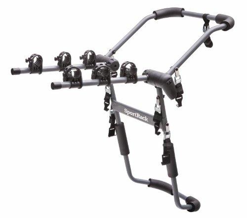Sportrack Sr3141 3-Bike Suv And Van Mount Bike Rack, Black front-818033