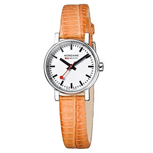 Mondaine EVO Petite A658.30301.11SBG Reloj de Pulsera para mujeres Look Estación de Trenes
