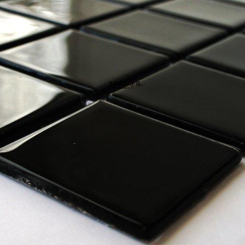 mosaik fliesen schwarz. Black Bedroom Furniture Sets. Home Design Ideas