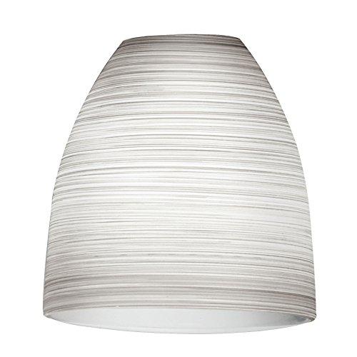 90267 Lampenschirm, Glas, weiß