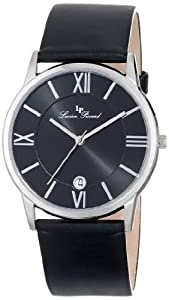 Lucien Piccard Unisex LP-10608-01 Moiry Analog Display Swiss Quartz Black Watch from Lucien Piccard