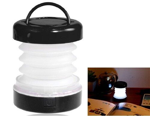 Mini 5-LED Tensile LED Camping Lantern (Black)
