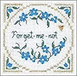 Forget-me-not Cross Stitch Kit