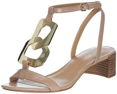 Nine West Women's Isobel Dress Sandal,Natural Leather,6 M US
