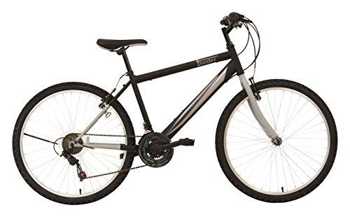"""F.lli Schiano Mountain Bike Thunder Bicicletta Uomo, Nero/Grigio opaco, 26"""""""