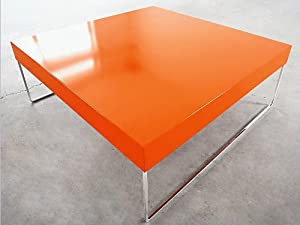 Park Square Coffee Table Orange Kitchen Dining