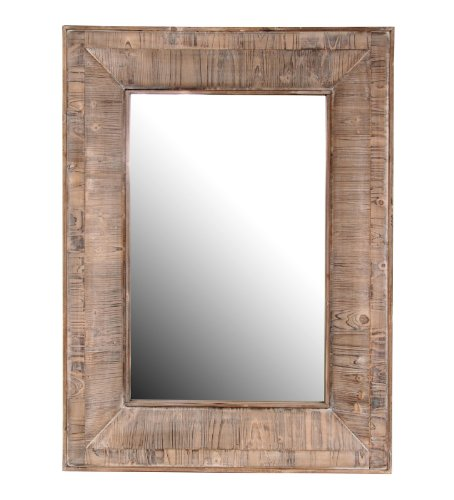 Privilege International 63428 Reclaimed Leaner Mirror, Vintage