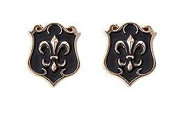 OutDazzle Designer Lapel Collar/Stud Pin for Men- Set of 2