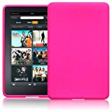 "AMAZON KINDLE FIRE SILIKON SKIN CASE SCHUTZH�LLE IN PINK + QUBITS MICROFIBER TISSUEvon ""QUBITS"""