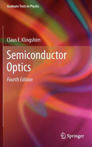 Semiconductor Optics (Graduate Texts In Physics)