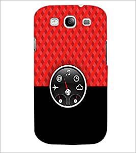 PrintDhaba Funny Meter D-3516 Back Case Cover for SAMSUNG GALAXY S3 (Multi-Coloured)