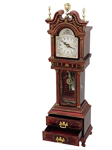 Musicbox Kingdom Grandfather Clock With Well Known Melody