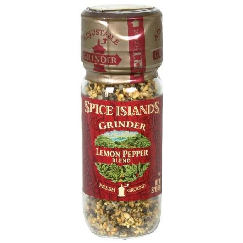 Spice Island S I Lemon Pepper Grinder 2.2 OZ (Spice Islands Grinder compare prices)