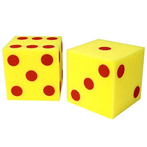 Giant Soft Cubes Dot 2/pk 5 Inch Cube Square - 1