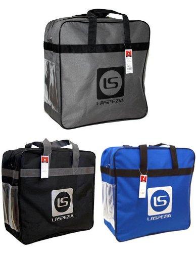 LASPEZIAスキーブーツケース「ブーツバッグ」LA-0032 (ブラック)