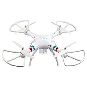 AKASO X8C 2.4GHz 4.5CH 6 Axis Gyro RC Quadcopter with HD Camera, 360-degree Rolling Mode 2 RTF LED RC Spy Drone