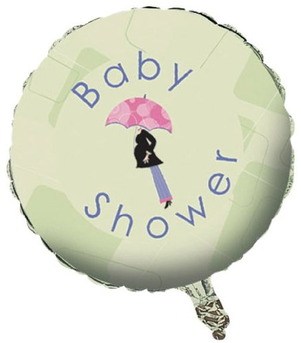 Mod Mom'S Baby Shower Foil Balloon front-833452