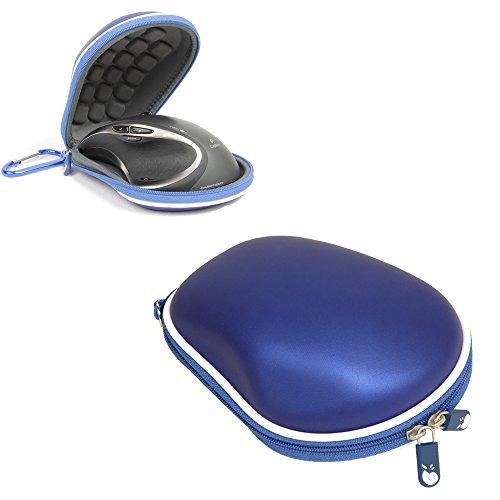 Hermitshell Custodia protettiva Viaggi EVA trasporto dimensioni della copertura del sacchetto borsa compatta per Logitech Mouse MX Colore: blu Dimensione: Performance MX