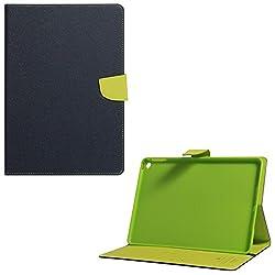 DMG Diary Wallet Flip Book Cover Case for Apple iPad Air 2 / iPad 6 (Pebble Blue)