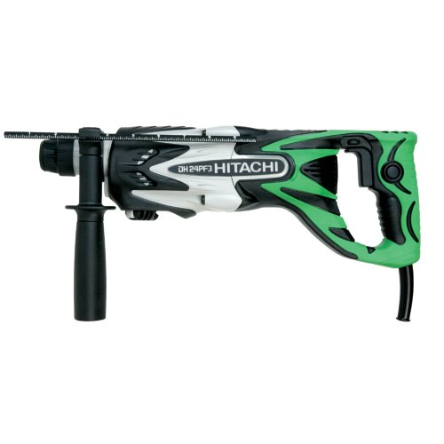 Big Save! Hitachi DH24PF3 15/16-Inch 7 Amp SDS Rotary Hammer with D-Handle