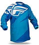 2014 FLY F16 Youth Motocross Jerseys - Blue - Youth Large
