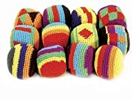 Hackey Sacks Knitted Kick Balls (Pack…