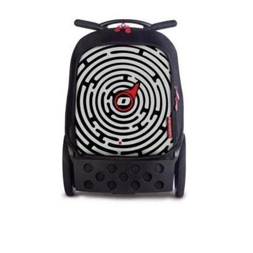 nikidom-labyrinth-trolley-unisex-adulto-nero-rosso-bianco