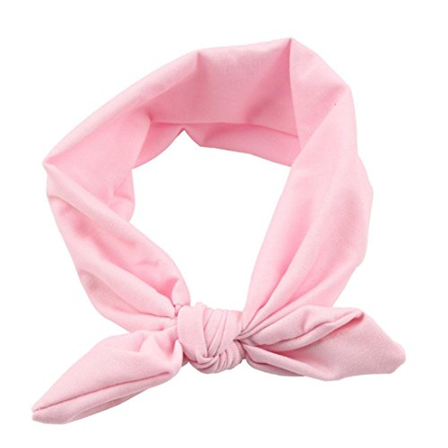 Gillberry Babys Girls Chiffon Flower Elastic Headband Photography Headbands (B)