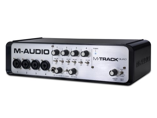 M-Audio MTRACK QUAD Audio Interface