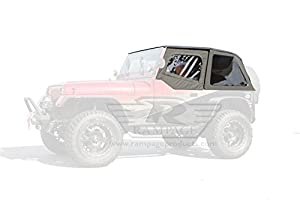 amazon.com: rampage 109435 frameless soft top kit with