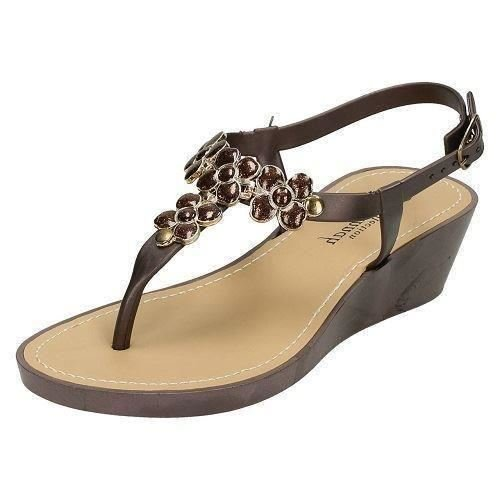 ladies-savannah-glitter-flower-detail-wedge-toe-post-sandals-bronze-synthetic-uk-size-6-eu-size-39-u