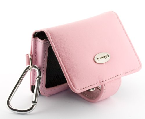 Premium Soft Full Grain Napa leather case - Creative Zen (4GB/8GB/16GB/32GB) - Pink