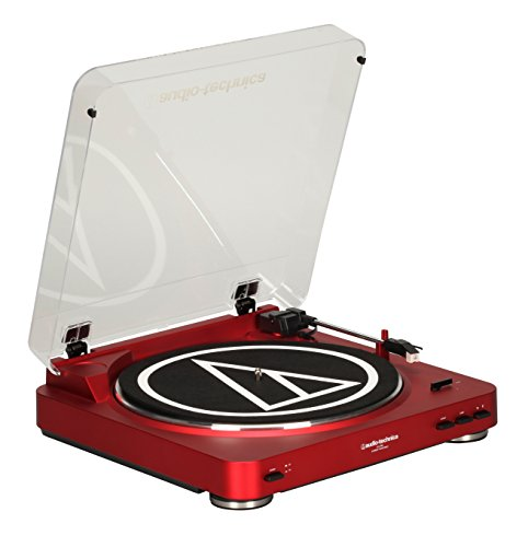 Audio-Technica-AT-LP60RD-Fully-Automatic-Stereo-Turntable-System-Red