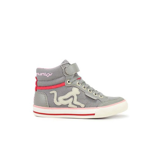 drunknmunky bos-vi-095 15ss grey sneakers bambina canvas (29)