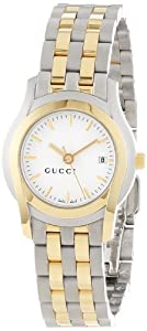 Gucci Women's YA055520 G-Class Steel and Gold-Plated Watch