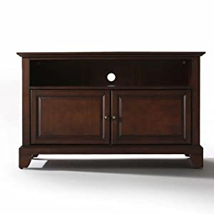 Crosley furniture newport 42 inch tv stand vintage mahogany kitchen home Home furniture on amazon