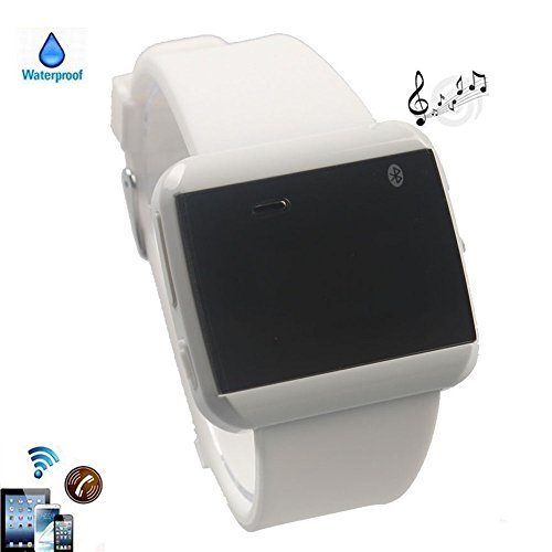 Boriyuan White Waterproof Wrist Bluetooth Smart U Watch U8 Watch Phone For Cell phones Tablets and PCs (Support Android 2.3 or Above): IOS Apple iphone 4 4S 5 5C 5S/ iPhone 6 4.7''/ iPhone 6 Plus 5.5'', iPad 2 3 4 5 Air Mini (with Retina Display), Android Samsung Galaxy S3 I9300/S4 I9500/S5 I9600/Note 2 N7100/Note 3 N9000/Note 4/Mega 6.3 I9200, HTC One M7/M8/MAX, LG G2/G Pro 2/G Flex, Sony L36h/Z1S/Z2, Moto G/ X, Galaxy Tab, LG G Pad 8.3 V500 ect