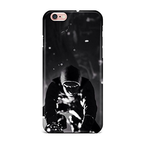 iPhone 6S Case, iPhone 6S Hard Protective SLIM Cover [Shock Resistant Hard Back Cover Case] for iPhone 6S 4.7 inches - Infamous Second Son Black And White  available at amazon for Rs.450