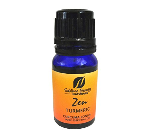 Zen TURMERIC Essential Oil, Therapeutic Grade 10 ml from Sublime Naturals. Anti-inflammatory Qualities.