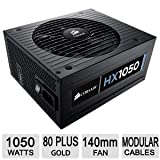 Corsair Professional Series HX1050 80 Plus Silver Certified 1050-Watt Power Supply Compatible with   and   Platforms - CMPSU-1050HX