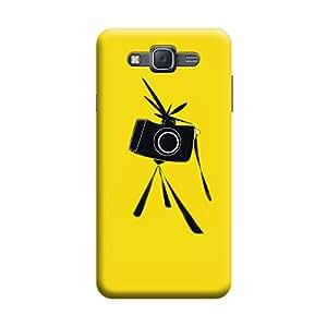 Desicase Samsung J5 Get Ready To Snap 3D Matte Finishing Printed Designer Hard Back Case Cover (Black)
