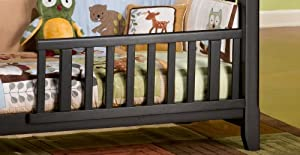 Child Craft Rose Valley Toddler Crib Rail Guard, Abby Oak